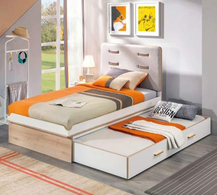 Кровать выдвижная Cilek Dynamic 90х180 см, бежевый