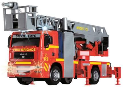 """Фрикционная машинка """"Пожарная"""" (свет, звук, вода), 31 см Dickie Toys"""