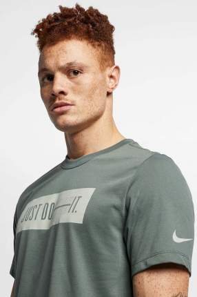 Футболка мужская Nike AR5983-344 серая L