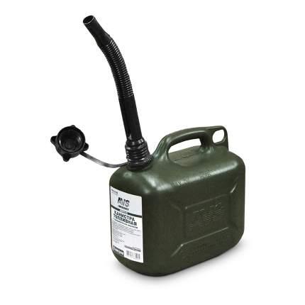 Канистра топливная пластиковая 5 Л (темно-зелёная) AVS TPK-Z 05