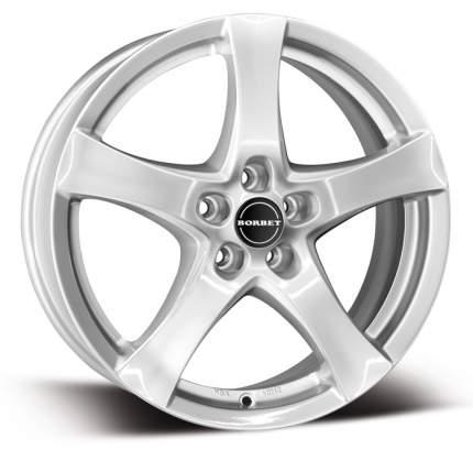 Колесные Диски Borbet F 7,0\R17 5*114,3 ET50 d72,5 Brilliant Silver 8135761