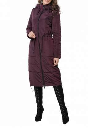 Пуховик-пальто женский DizzyWay 20101 фиолетовый 42 RU