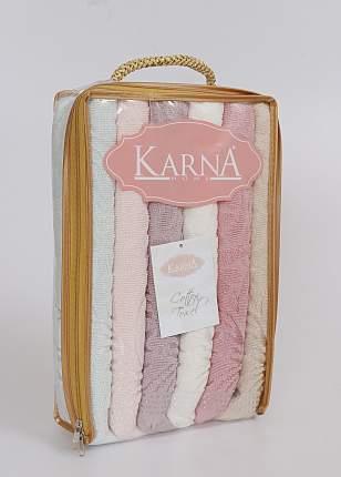 Набор полотенец Karna Esra 40x60 см, 6 шт