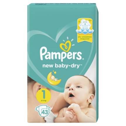 Подгузники для новорожденных Pampers New Baby-Dry 1 (2-5 кг), 27 шт.
