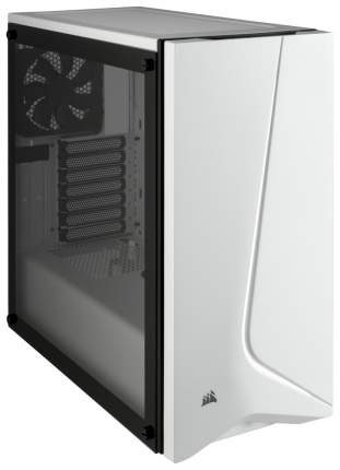 Компьютерный корпус Corsair Carbide SPEC‐06 без БП (CC-9011145-WW) white/black