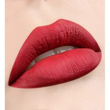 Блеск для губ ультра матовый финиш LuxVisage Pin-up Ultra Matt тон 29 Red Flower