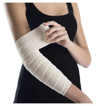Бинт компрессионный Lauma 60 см х 8 см эластичный для лечения венозных воспалений