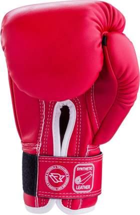 Перчатки боксерские Reyvel RV-101, 12oz, к/з, красные