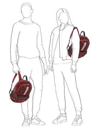 Рюкзак унисекс Piquadro CA3936OS37/R красный 16 л