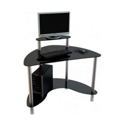 Компьютерный стол АКМА серебристый
