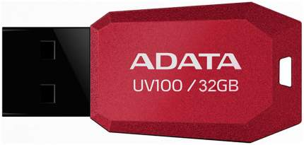 USB-флешка ADATA UV100 32GB Красный AUV100-32G-RRD