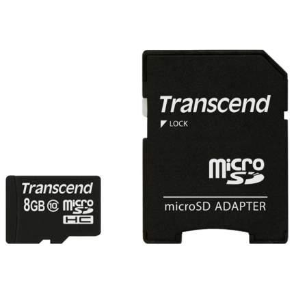 Карта памяти Kingston Micro SDHC TS8GUSDHC10 8GB