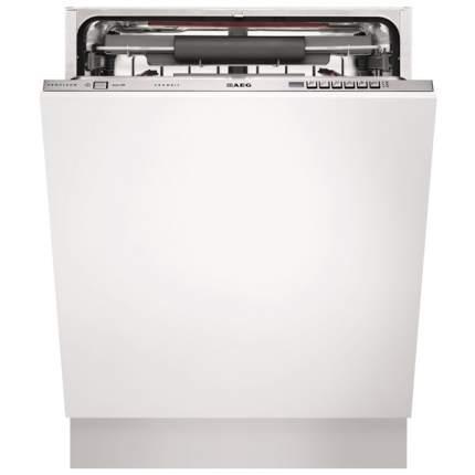 Встраиваемая посудомоечная машина 60 см Hotpoint-Ariston MVFTA+ M X RFH