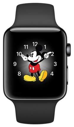 Смарт-часы Apple Watch Series 2 38mm Space Black Stainless Steel/Sp.Bl (MP492RU/A)