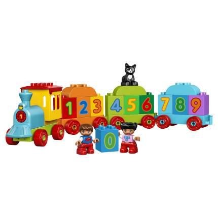Конструктор LEGO Duplo My First Поезд Считай и играй (10847)