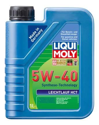 НС-синтетическое моторное масло LIQUI MOLY Leichtlauf HC 7 5W-40 SN/CF;A3/B4 1л