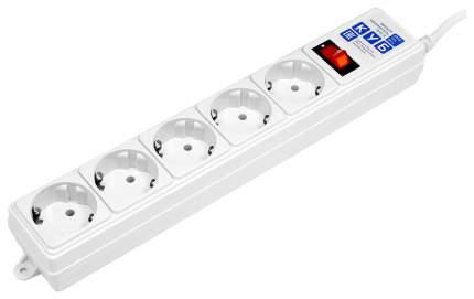 Сетевой фильтр Power Cube SPG-B-10 5 розеток 3 м белый