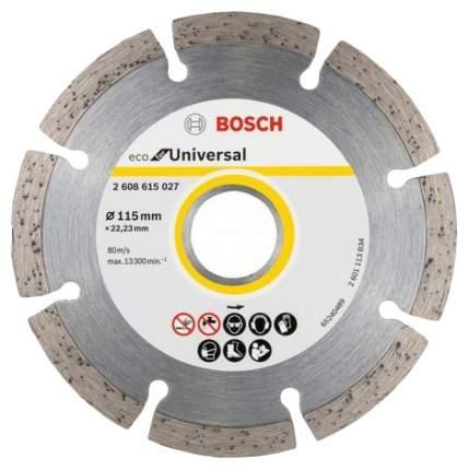 Диск отрезной алмазный Bosch ECO Universal универсальный 2608615027