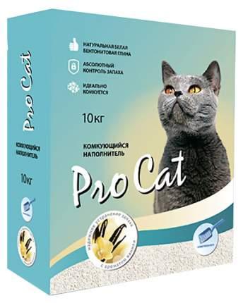 Комкующийся наполнитель для кошек Pro Cat Vanilla силикагелевый, 10 кг, 40 л
