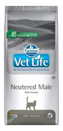 Сухой корм для котов Farmina Vet Life Neutered Male, для кастрированных, курица, 2кг