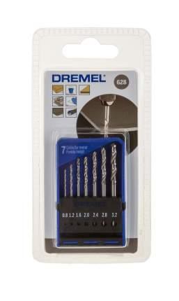 Набор сверл Dremel 628 7шт синий (2615062832)