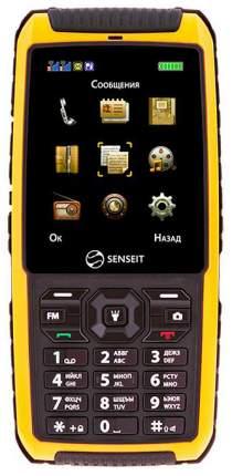 Мобильный телефон SENSEIT P101 жёлтый