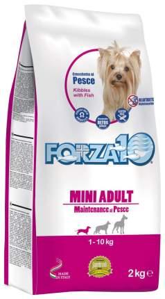Сухой корм для собак Forza10 Maintenance Mini Adult, лосось, тунец, треска, 2кг