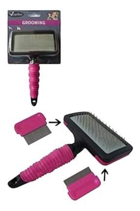 Набор для груминга Papillon пластик, резина, металл нескользящая ручка, сменная насадка