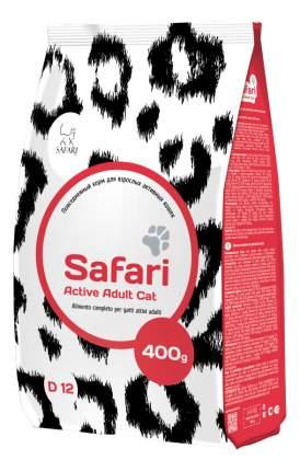 Сухой корм для кошек Safari Active for Adult Cat, для активных, курица, 0,4кг