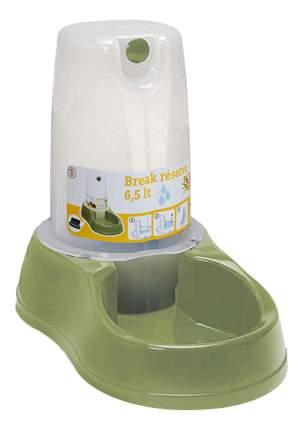 Кормушка-автопоилка для кошек и собак Stefanplast, зеленый, 6.5 л
