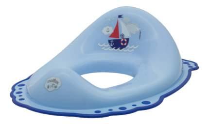 Накладка на унитаз Maltex Ocean голубой