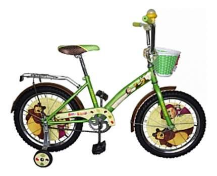 Велосипед Navigator 2017 Маша и Медведь зеленый ВН18081К
