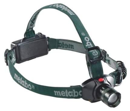Туристический фонарь Metabo 657003000 зеленый, 3 режима