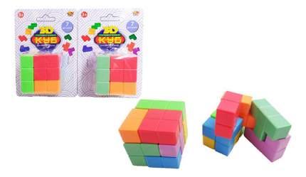 Головоломка ABtoys Куб головоломка 3D 7 деталей