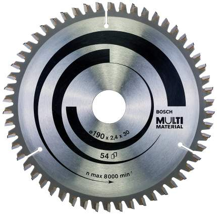 Пильный диск по дереву Bosch STD MM 190x30-54T 2608640509