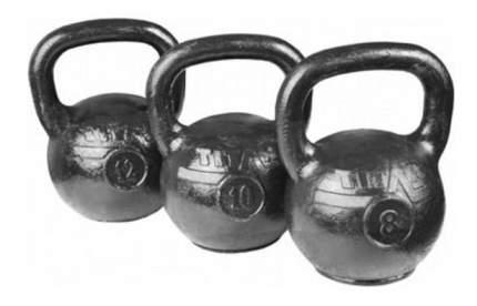 Гиря цельнолитая MB Barbell Atlet 11305 16 кг