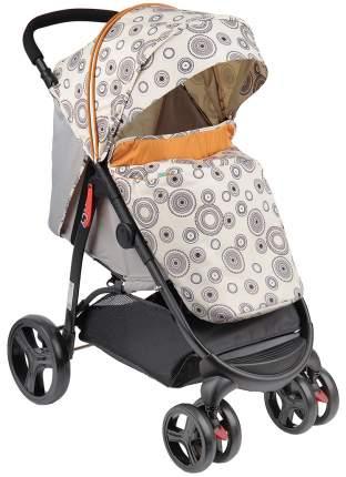 Прогулочная коляска BabyHit Racy бежевая с кругами