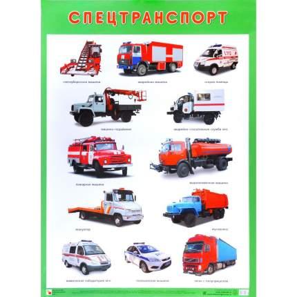 """Плакат """"Спецтранспорт"""""""