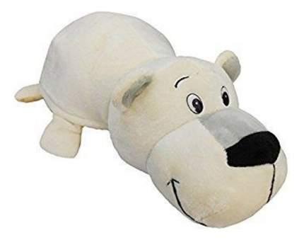 Мягкая игрушка 1 TOY Вывернушка плюшевая белый Медведь Хаски 12 см