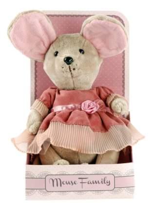 Мягкая игрушка Fluffy Family Мышка Lady Mouse Лакомка 25 см 681201