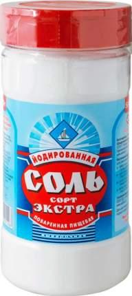Соль поваренная пищевая Соль Руси экстра выварочная йодированная 500 г