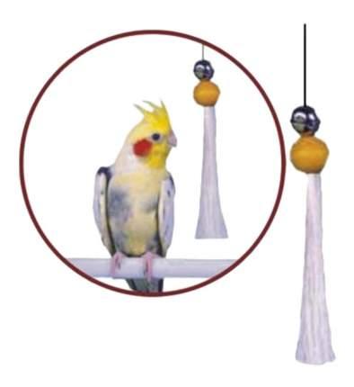 Подвеска для птиц Penn-Plax Кисточка с бубенчиком большая, пластик, текстиль, 1x12см