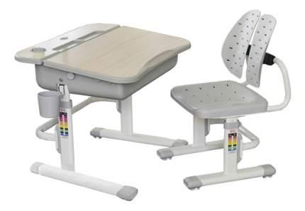 Комплект мебели Mealux Парта и стул EVO-03 клен/серый