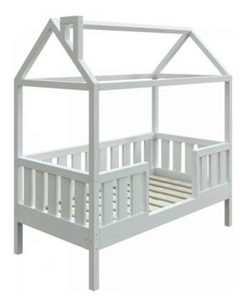 Кровать-домик Трурум KidS Сказка широкий бортик белая