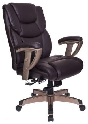 Кресло руководителя Бюрократ T-9999/BROWN 489549, коричневый