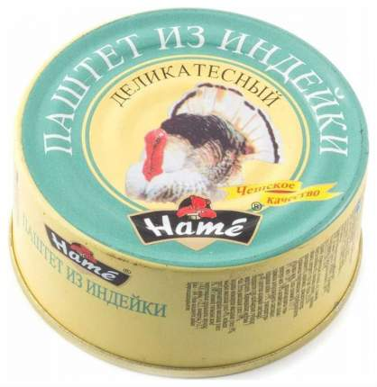 Паштет Hame деликатный мясной 117 г 3 штуки