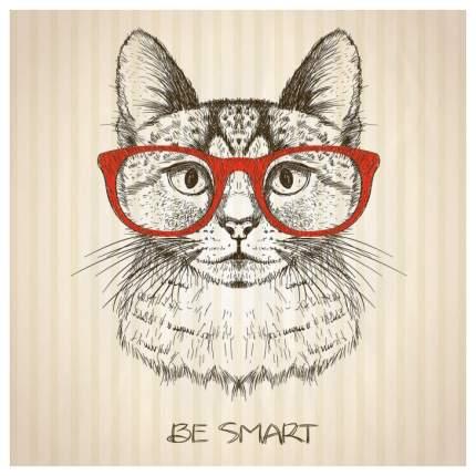 Постер из ткани вертикальный «Будь умным» JoyArty tp_15560