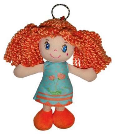 Кукла Creation Manufactory Рыжая в глубом платье с колечком мягконабивная, 15 см