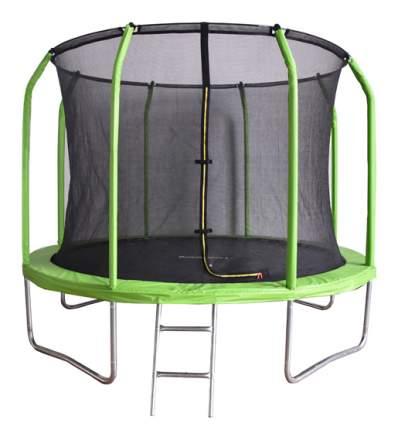Батут Bondy Sport BS8FTGR с сеткой и лестницей зеленый 244 см