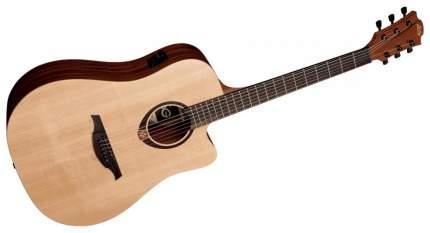 Электроакустическая гитара шестиструнная LAG GLA T70DCE